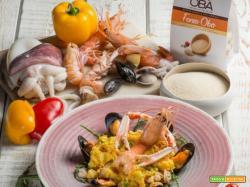 La ricetta del Paella di fonio mantecato alla valenciana