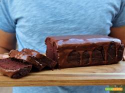 Torta di cioccolato e barbabietole senza burro