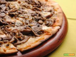 Pizza del boscaiolo : ricetta da fare in casa