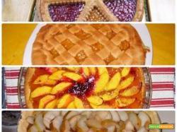 Le crostate sono torte casalinghe, ma sono buonissime