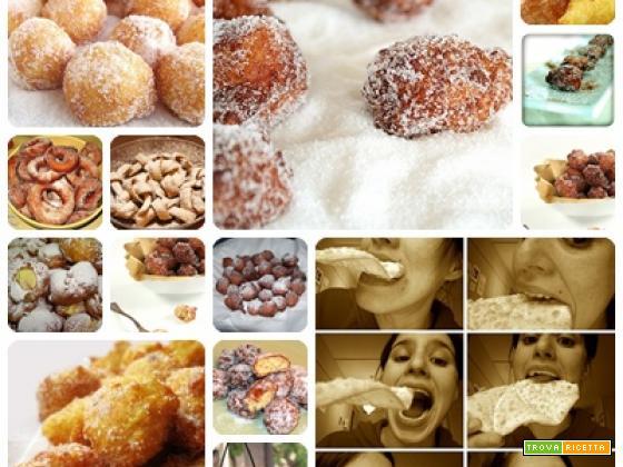 Frittelle di carnevale foto e ricetta