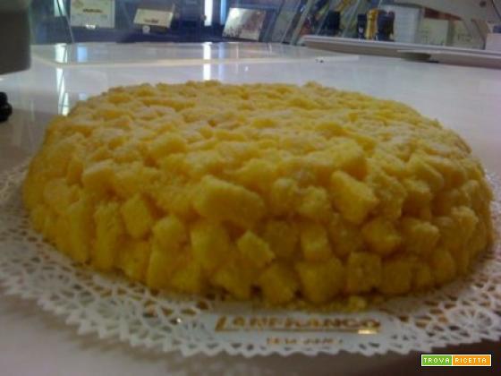 Torta mimosa per la festa della donna 8 marzo