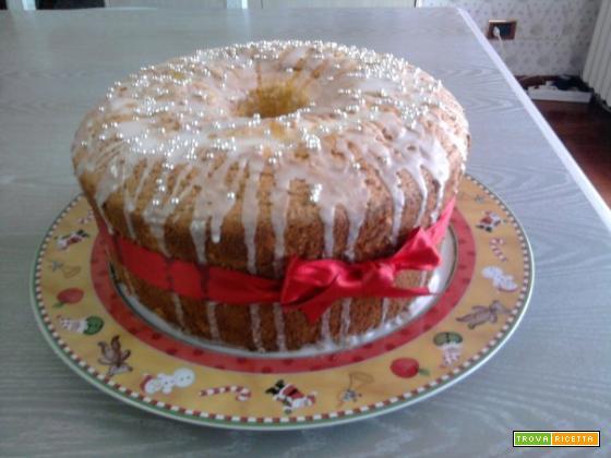 La ricetta dello chiffon cake di Annamaria