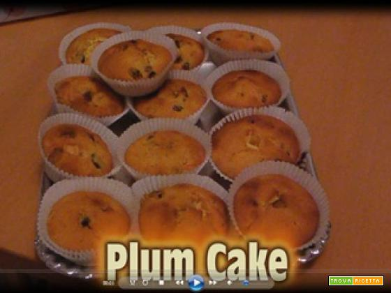 La video ricetta del PLUM CAKE
