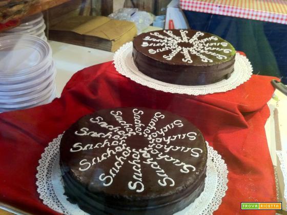 Torta sacher: ricetta casalinga
