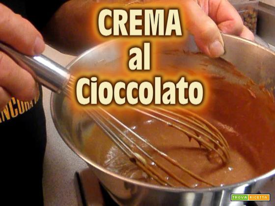 Crema al cioccolato la video ricetta