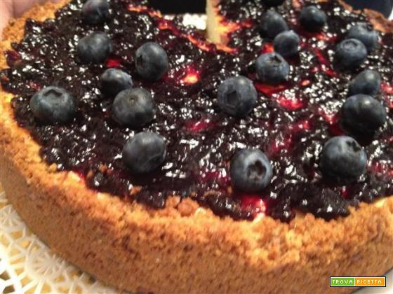 La ricetta della cheesecake con gli ingredienti