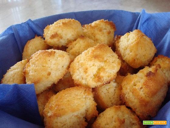La ricetta dei biscotti al cocco di Mery