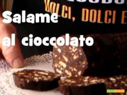 Video ricetta del salame al cioccolato
