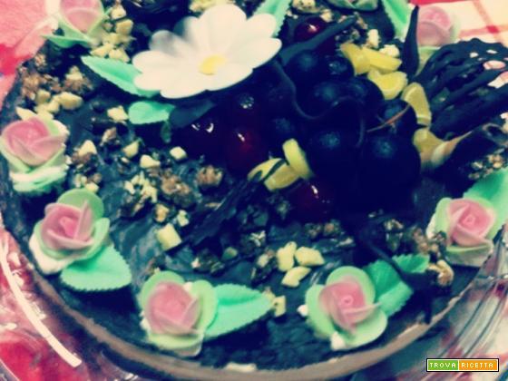 Ricetta Cheesecake al cioccolato di Valeria