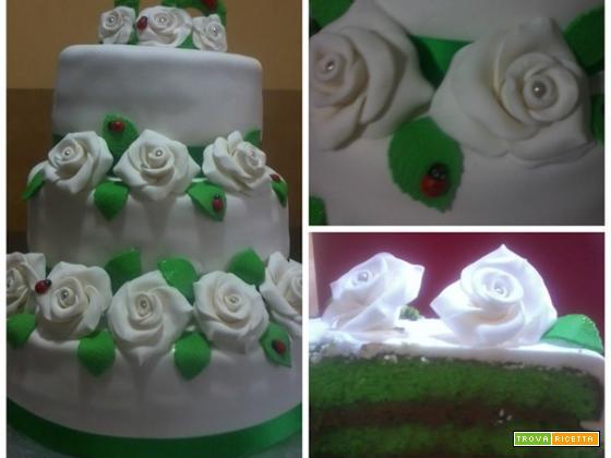 Ricetta torta di compleanno realizzata da Carmela
