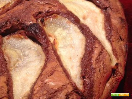 La video ricetta della torta cioccolato e pere