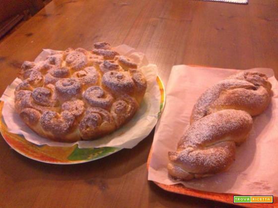 Ricetta della torta delle rose o Treccia di Paola