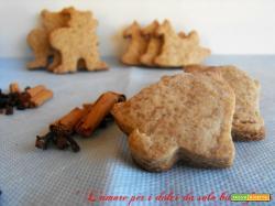 Ricetta biscotti svedesi allo zenzero e cannella di Maria