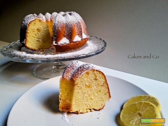 Ricetta della Ciambella limone e zenzero di Elisabetta