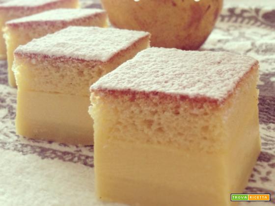 La ricetta della Torta Magica di Azzurra