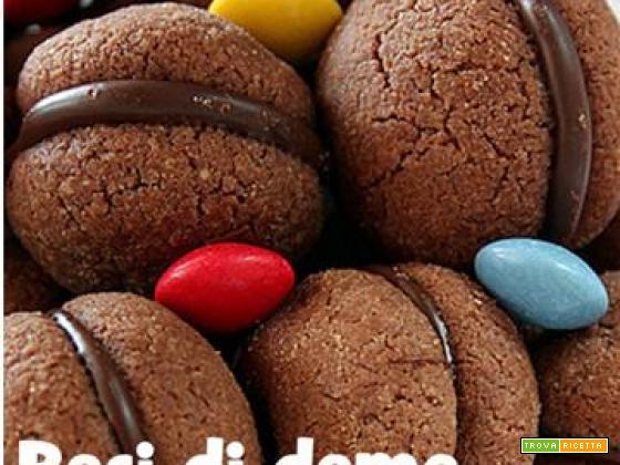 Baci di dama al cioccolato by ExPasticcere
