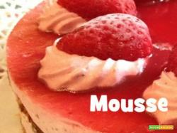 Mousse alla fragola by ExPasticcere