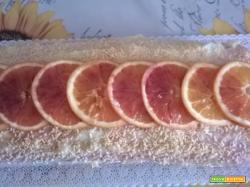 Ricetta Rotolo di crema di arance