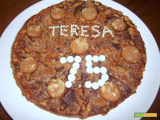 Ricetta torta Pesche e Amaretti Peschetto