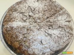 Ricetta Torta Cioccolato Pere e Amaretti
