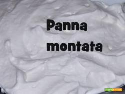La ricetta della Panna Montata