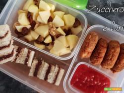 Idea mini menù per la scuola 2