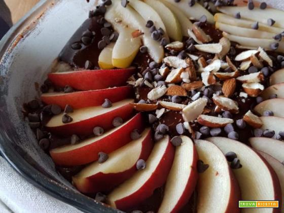 Torta cacao e pere – ricetta veloce