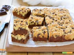 Brookies (brownie cookies)- ricetta americana