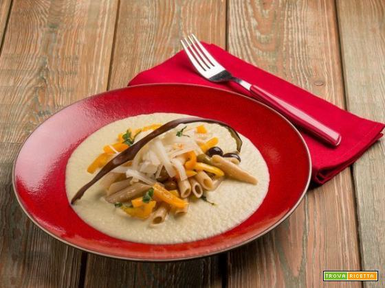 Pasta le Celizie con quinoa e riso con peperoni: un primo super gustoso