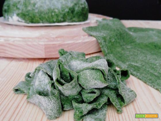 Sfoglia per lasagna verde