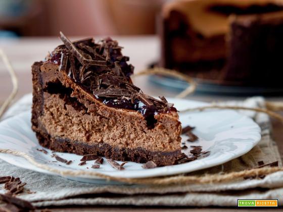 Cheesecake al Cioccolato e Caffè