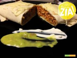 Burrito con carne e verdure