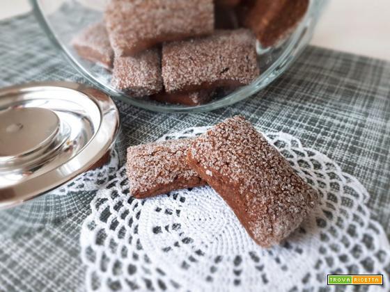 Biscotti MORBIDI al CACAO e CAFFE'