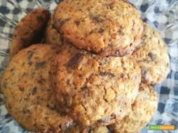 Cookies con farina di riso e corn flakes
