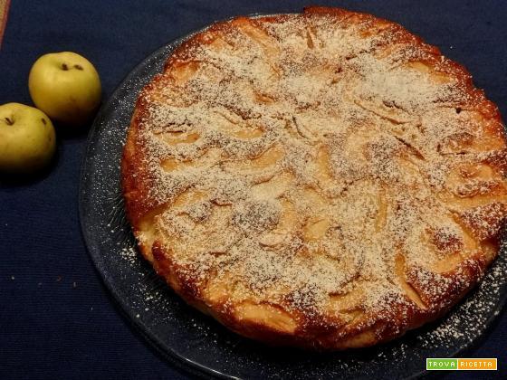 Limoncella, Ghiaccio e Maggiatica: mele lucane in torta
