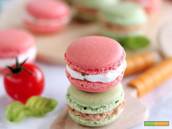 Macarons salati (ai gusti delle pizze di Franco Pepe)