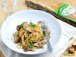 Pasta integrale ai Funghi Porcini e Noci