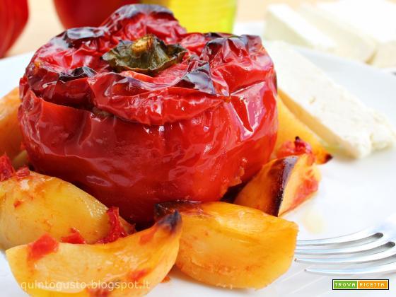 Peperoni ripieni - Gemista