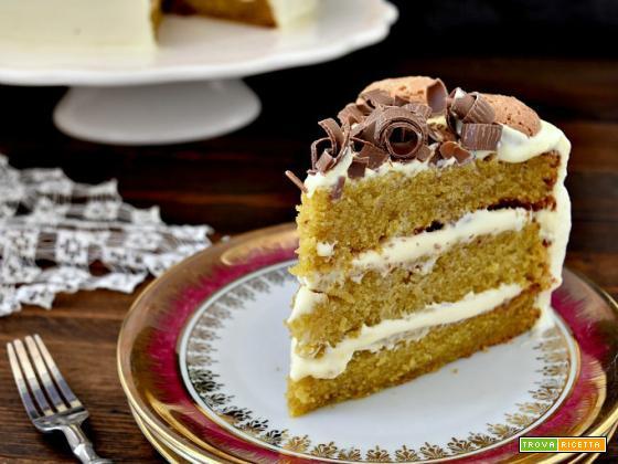Torta di zucca con crema al mascarpone