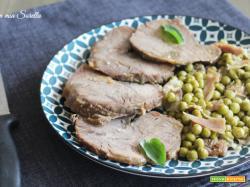 Roast beef in tegame