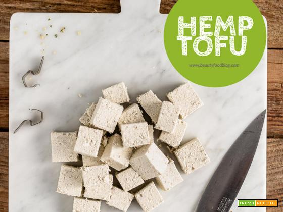Come preparare il TOFU di CANAPA fatto in casa | HOMEMADE HEMP TOFU recipe | Vegan, Paleo, Keto