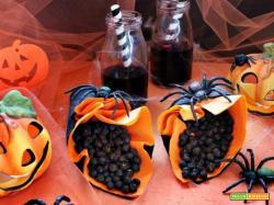 Ceci neri alla curcuma in forno: una delizia di Halloween!