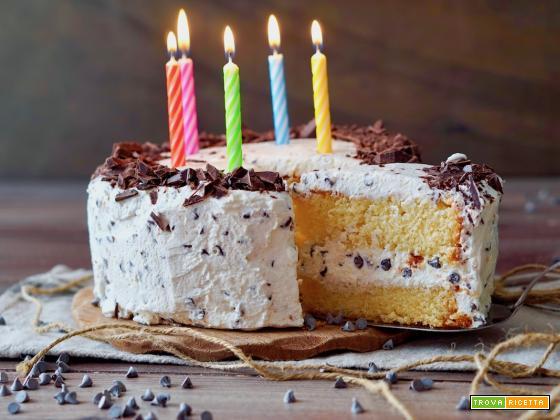 Torta di Compleanno al Cioccolato e Mascarpone