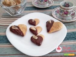 Biscotti allo zenzero e cioccolato
