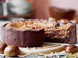 Crostata alle Castagne e Cioccolato