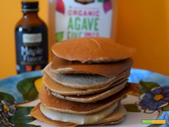 Pancake con farine di castagne