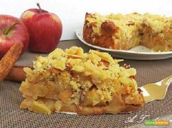 Torta di mele velocissima anche in versione dietetica