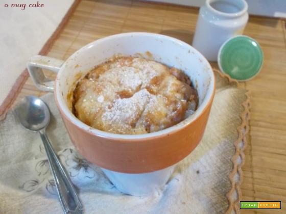 torta in tazza o mug cake