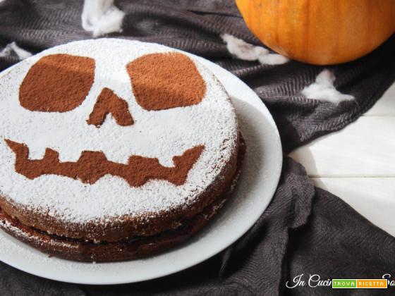 Torta soffice di Halloween